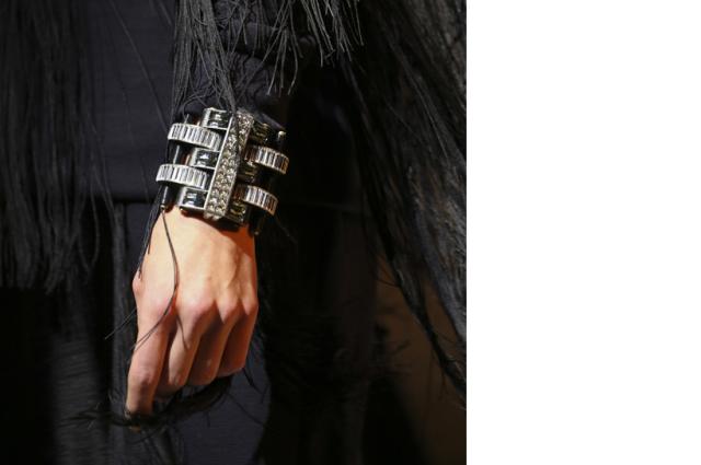 Crystal cuffs Lanvin